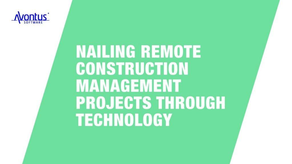 remote construction management