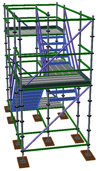 Staircase Tower Support : Advanced stair tower techniques avontus us