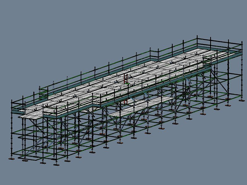 Scaffold Guy & Son Power Ratanga Bridge Project Before
