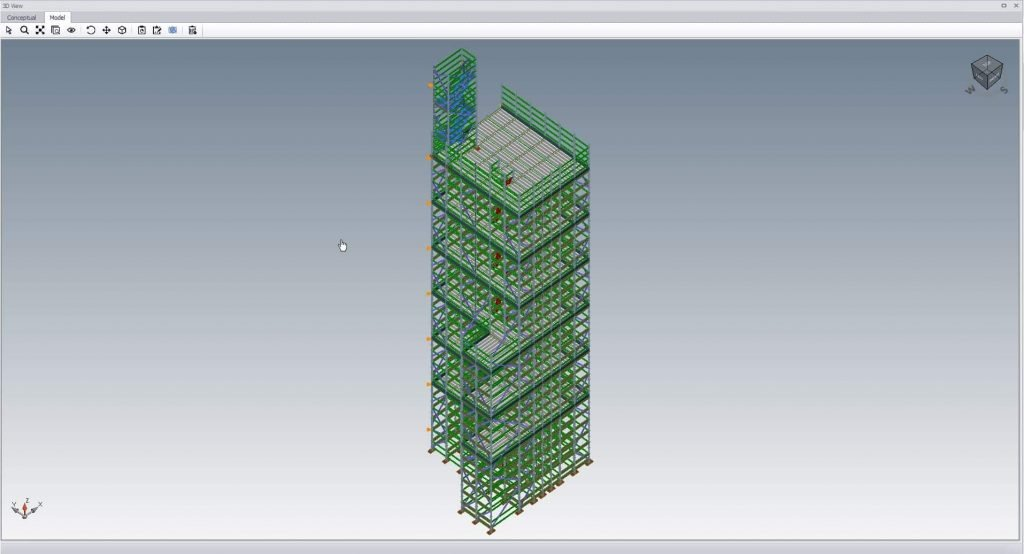 3D scaffold drawing by BFB scaffolding