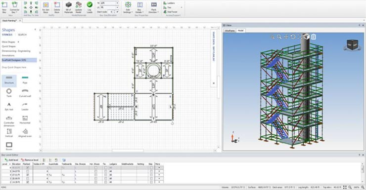 Scaffold Designer: Software for Scaffolding Design - Avontus US