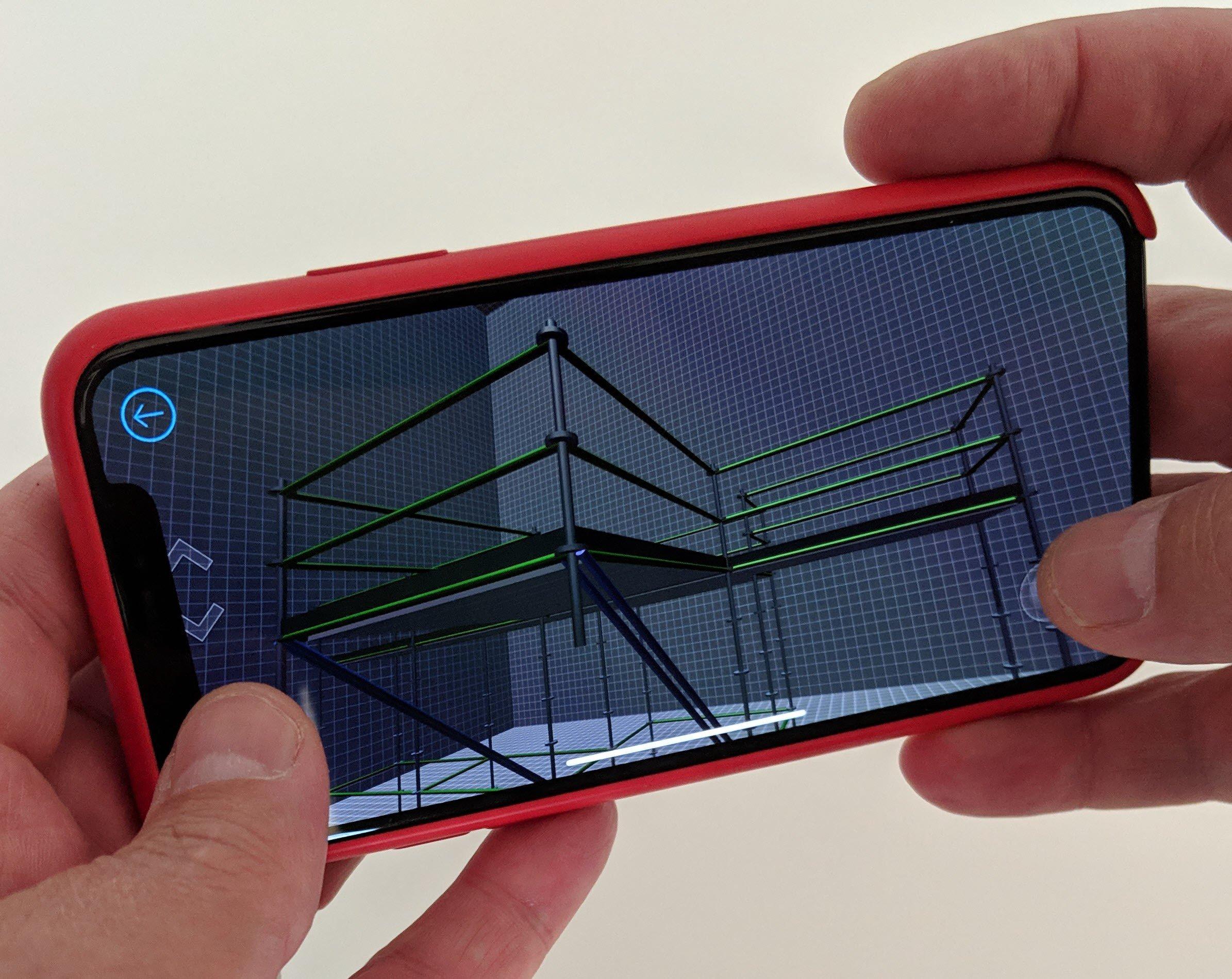scaffolding mobile