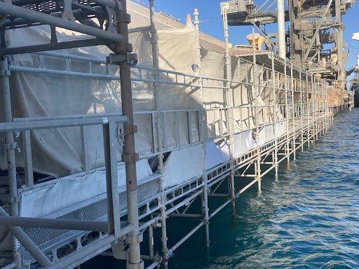 SMS Kwinana Bulk Terminal Jetty Project After