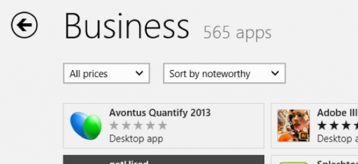 Quantify is Now in the Windows Store